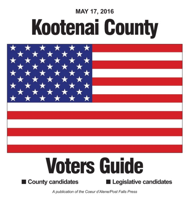 Kootenai County Voters Guide 2016
